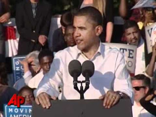 AP_ Raw Video- 'President Obama- Urges Democrats Not to Get Discouraged'