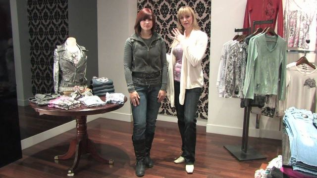 Fashion Advice for Women _ How to Wear Knee-High Boots With Jeans