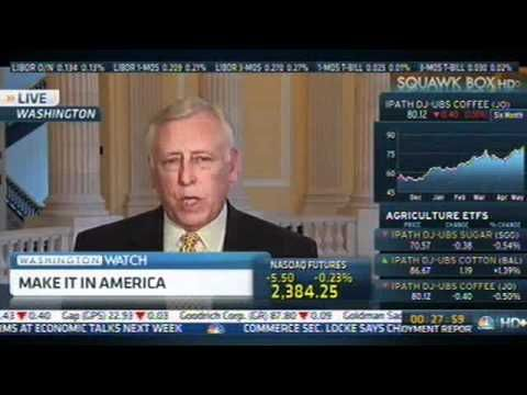 Whip Hoyer on CNBC Discussing the Economy, and Democrats' Make It In Ame_