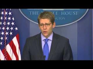Associated Press_ White House Press Secretary Jay Carney- 'No Military Intervention in Syria'