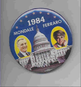 1984 Democratic Ticket