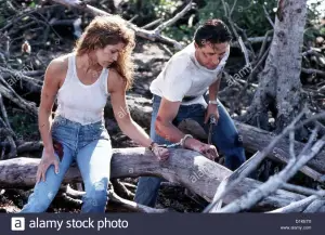 Warner Brothers_ Fair Game (1995) Starring Cindy Crawford & William Baldwin _ The Daily Press