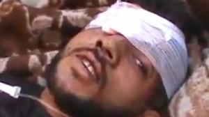 Victim of Bashar Al-Assad
