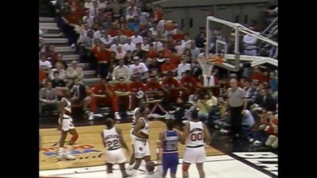1990 NBA Finals - Detroit vs Portland - Game 5 Best Plays