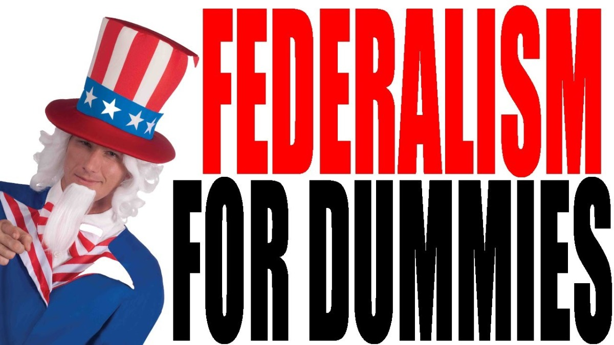 Keith Hughes: US Federalism For Dummies- American Government Review