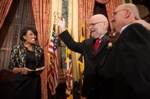 Baltimore Mayor Stephanie Rawlings-Blake Officiates Same-Sex Wedding