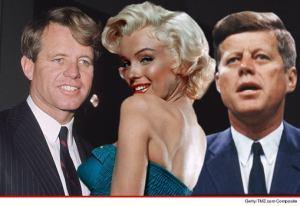 Robert F. Kennedy, Marilyn Monroe, John F. Kennedy