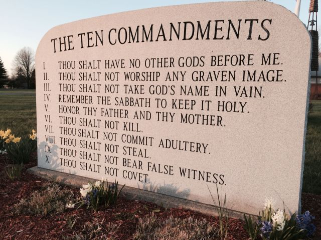 Image result for Ten Commandments - Thou Shalt Not Speak Ill of The Dead