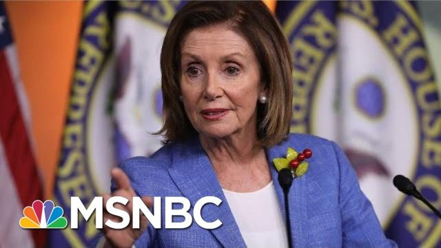 House Speaker Nancy Pelosi_ 'I'm Not Trying To Run Out The Clock' On Imp
