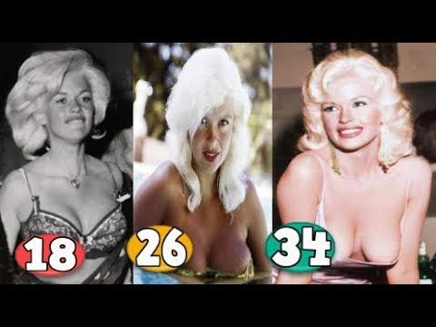 Jayne Mansfield ♕ Transformation From 01 To 34 Years OLD