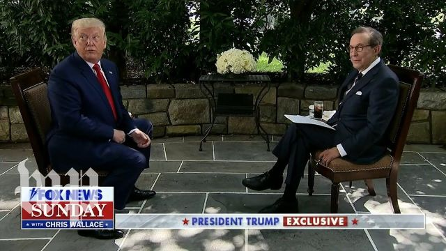 Trump's Fox News interview, in 4 minutes